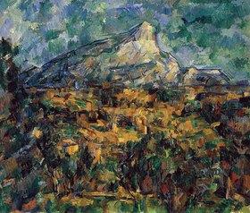 Paul Cézanne: Landschaft bei Aix mit dem Montagne Sainte-Victoire