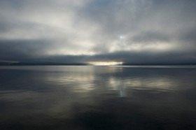Michael Reusse: Bayern, Walchensee, Nebel
