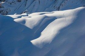 Michael Reusse: Alpen, Österreich, Arlberg, Ski