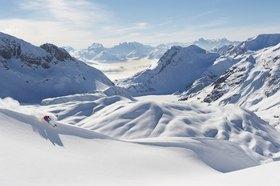 Michael Reusse: Österreich, Arlberg, Ski