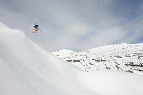 Michael Reusse: Alpen, Kleinwalsertal, Ski