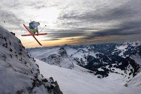 Michael Reusse: Alpen, Kleinwalsertal, Ski, Freeriding