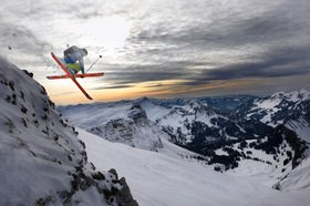 Michael Reusse: Kleinwalsertal, Ski, Freeriding