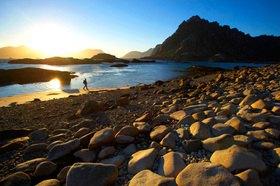 Michael Reusse: Norwegen, Lofoten, Mitternachtssonne