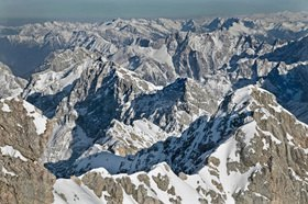 Michael Reusse: Alpen, Wetterstein, Jubiläumsgrat, Alpspitze