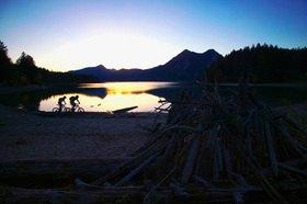 Michael Reusse: Alpen, Bayern, Walchensee, Mountain Bike