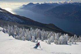 Michael Reusse: Gardasee,Skifahren, Tiefschnee, Panorama