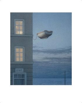 Quint Buchholz: Fenster bei Nacht