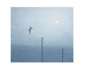 Quint Buchholz: Mann auf dem Seil