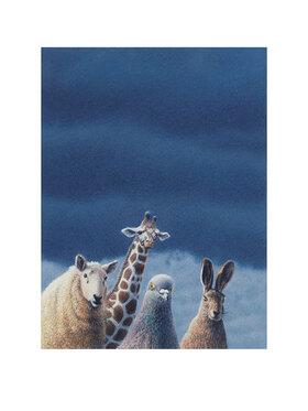 Quint Buchholz: Tiere vor dunklem Himmel