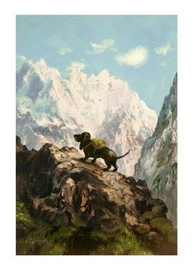 Rudi Hurzlmeier: Gewagte Auswilderung (Der Berg ruft)
