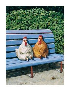 Rudi Hurzlmeier: Legen und legen lassen (Hühner)