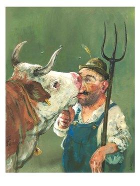 Rudi Hurzlmeier: Bauer sucht Cow