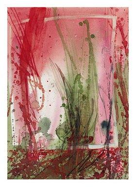 Reinhard Michl: Abstrakte Malerei, ohne Titel