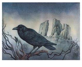 Reinhard Michl: The Raven, zu Edgar Allen Poe