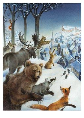 Reinhard Michl: Weihnachten im Wald