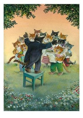 Reinhard Michl: Katzenchor