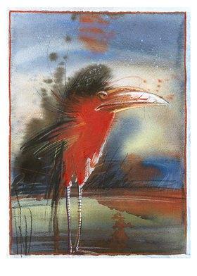 Reinhard Michl: Roter Reiher