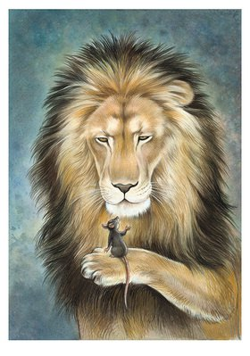 Reinhard Michl: Der Löwe und die Maus