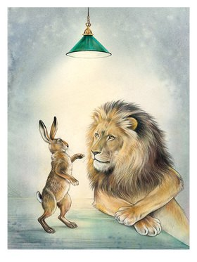Reinhard Michl: Der Löwe und der Hase