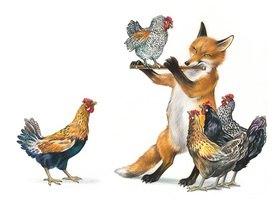 Reinhard Michl: Fuchs und Hühner