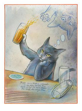 Reinhard Michl: Bier Katze