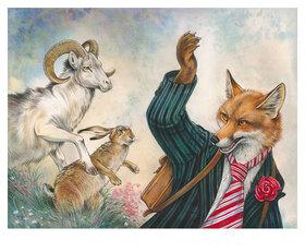 Reinhard Michl: Fuchs, Widder und Hase