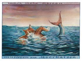 Reinhard Michl: Immer mehr Katzen mutieren zu Meerkatzen