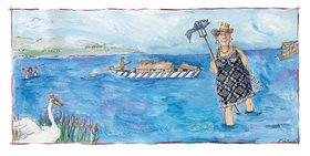 Rosemarie Zacher: Undine, die Fischkönigin (Wasser - Bayerns kostbarstes Nass)