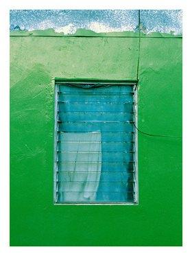 Suse Güllert: Fenstergrüne Wand