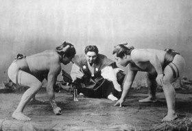 Gebrüder Haeckel: Japan - Sumo: Ringkämpfer