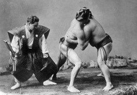 Gebrüder Haeckel: Japan - Sumo Ringkämpfer