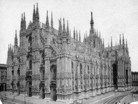 Gebrüder Haeckel: Milan Cathedral_