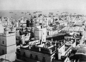 Gebrüder Haeckel: Andalusien: Ansicht von Cadiz