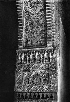 Gebrüder Haeckel: Andalusien, Granada: Ornamentik in der Alhambra