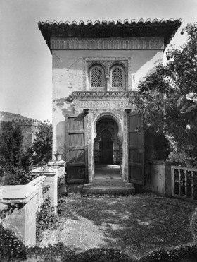 Gebrüder Haeckel: Spanien, Andalusien, Granada, Alhambra: Moschee