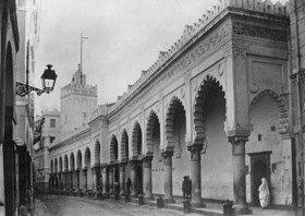 Gebrüder Haeckel: Grosse Moschee, Rue de la Marine in Algier