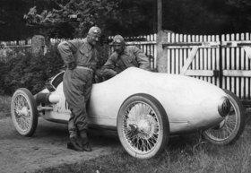 Der aerodynamische Benz-Tropfenwagen