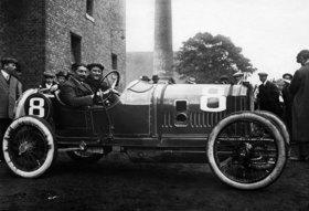 Peugeot der Sieger der Kleinwagen in Boulogne