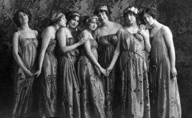 Group of female dancer