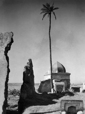 Marokko Fes Fes: Das Grabmahl eines Marabout