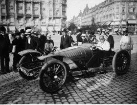 Automobilrennen - Rennfahrer Charles Jarrot