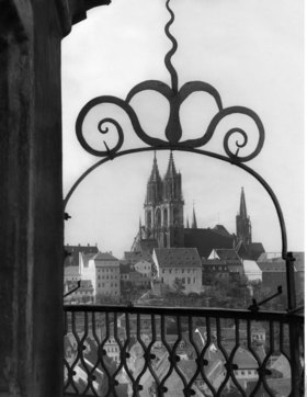 View from the Albrechtsburg to the cathedral