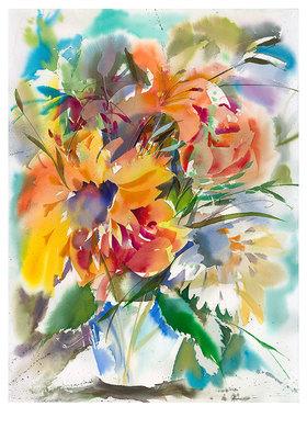 Werner Maier: Blumenstrauß