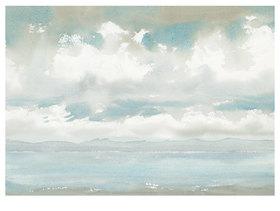 Werner Maier: Wolkenstimmung am Starnberger See