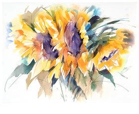 Werner Maier: Sonnenblumen