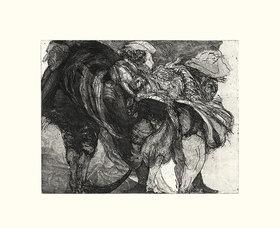 Werner Maier: Karneval in Venedig, Blatt VII
