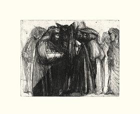Werner Maier: Karneval in Venedig, Blatt X