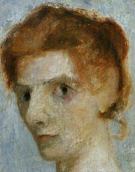 Paula Modersohn-Becker: Self-portrait, c