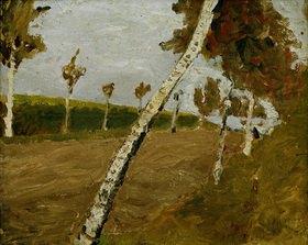 Paula Modersohn-Becker: Birch Alley